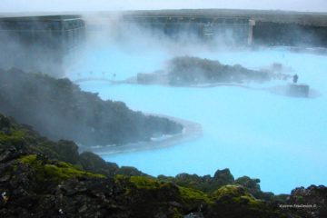 The Blue Lagoon outside of Reykjavik. Photo by Aaron Frutman via Flickr CC