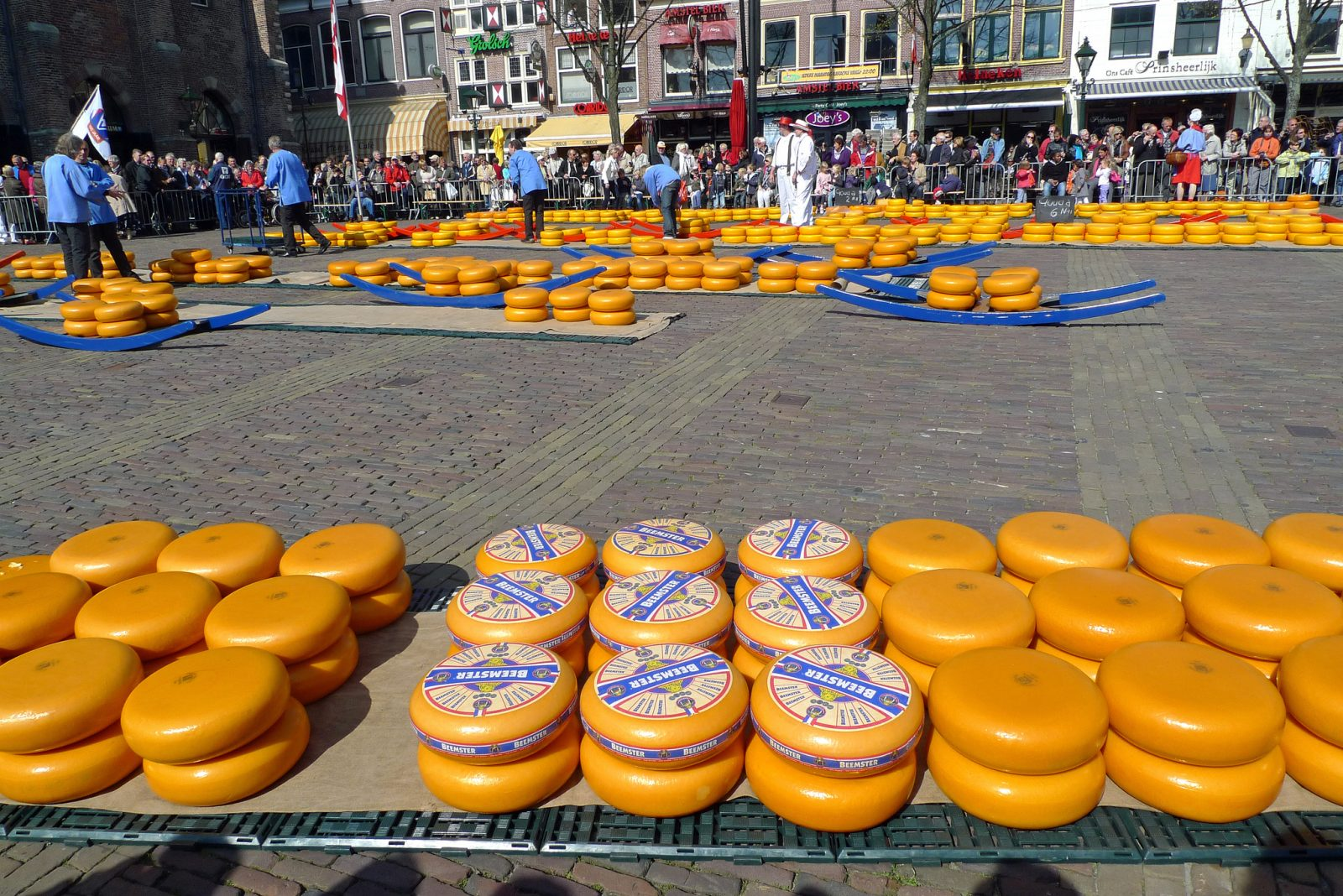 Holland from Holland: Alkmaar Cheese Market