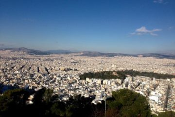 Athens from Lycabetus hill