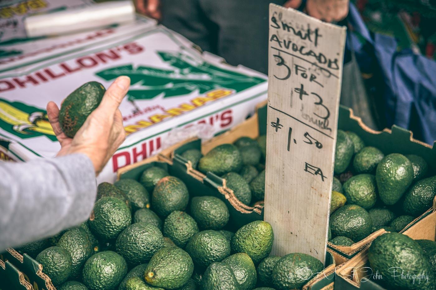 Australia Travel tips: Farmers market selling vegetables and food in Brisbane. Australia