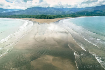 Marina Ballena National Park, view from Playa Uvita, Puntarenas