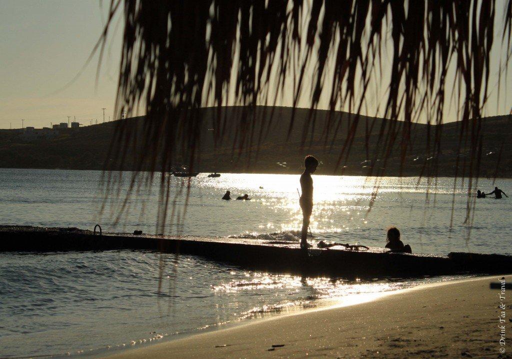Relaxing in Paros, Greece
