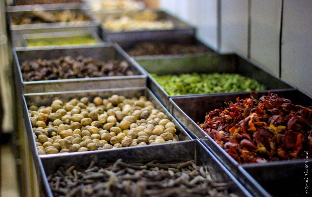 Nuts and spices in India