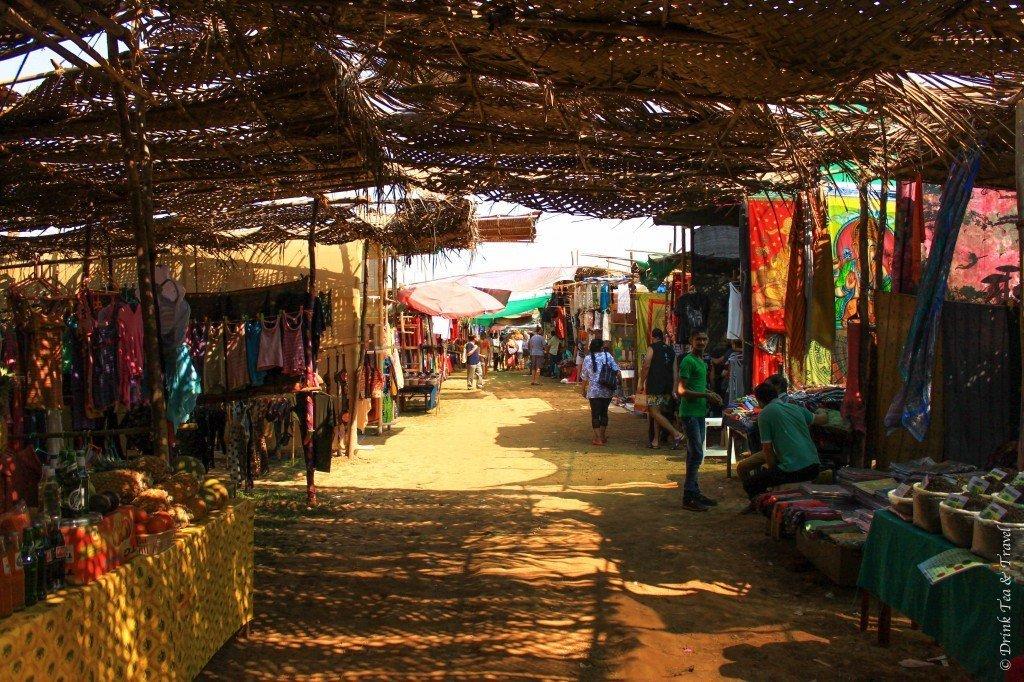Goa Flea Market, India