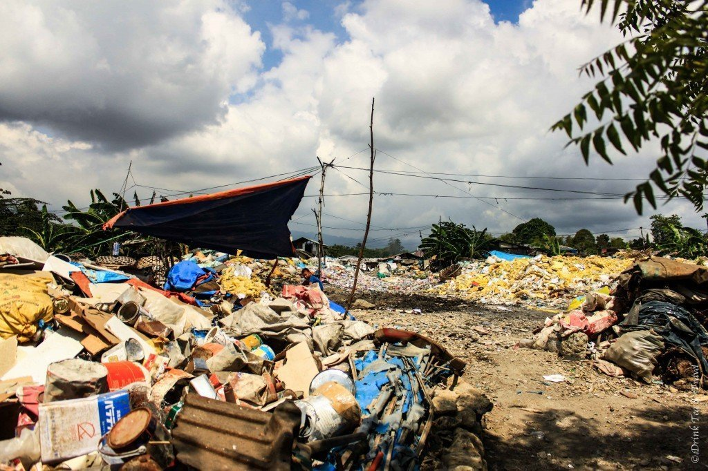 Dumpsite in Liloan, Cebu, Philippines