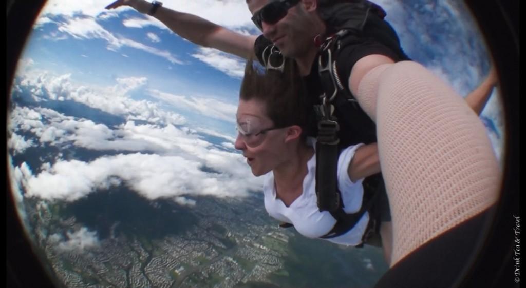 Skydiving in Cairns, Australia
