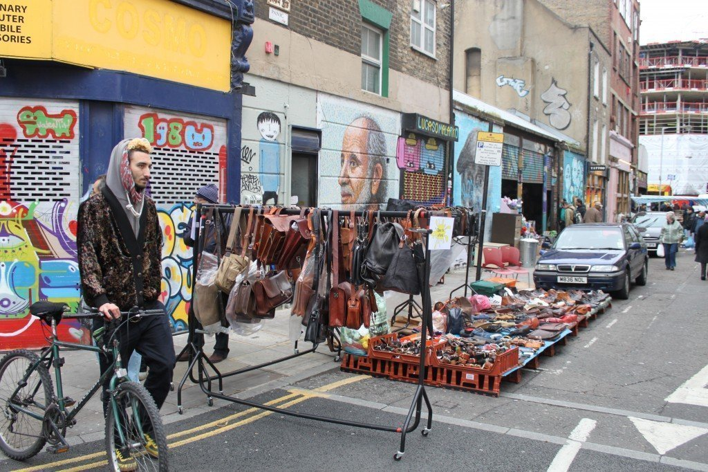 Photo Credit: London Liaison Brick Lane Market