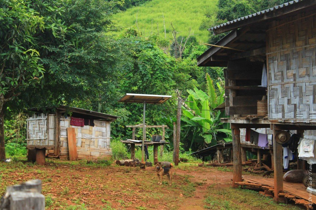 Cultural experiences in Thailand 1 - remote village