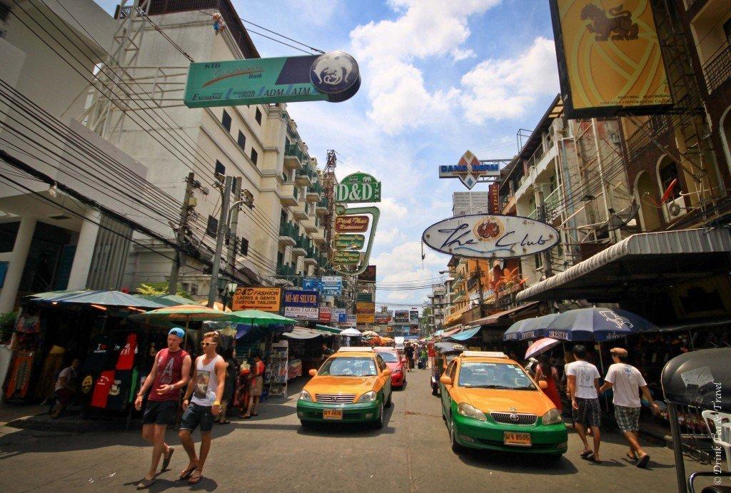 Khao San Road, Bangkok, scam in Bangkok Thailand