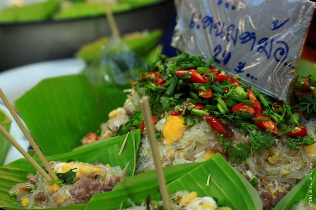 Street food at the Chiang Mai Night Market, Top 10 things to do in Thailand